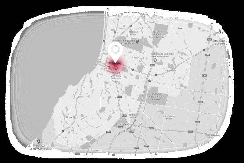 Frankston map